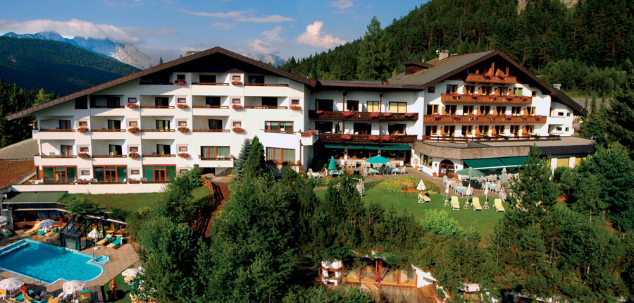 Bergresort, Seefeld, Austria - Exterior with outdoor pool.jpg