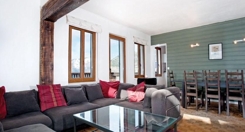 Chalet Sarenne - lounge