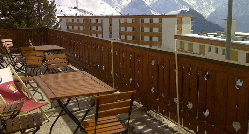 Chalet Hotel Les Cimes - Balcony view