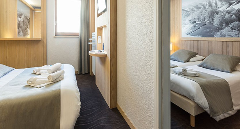Hotel club les bergers - Quad room