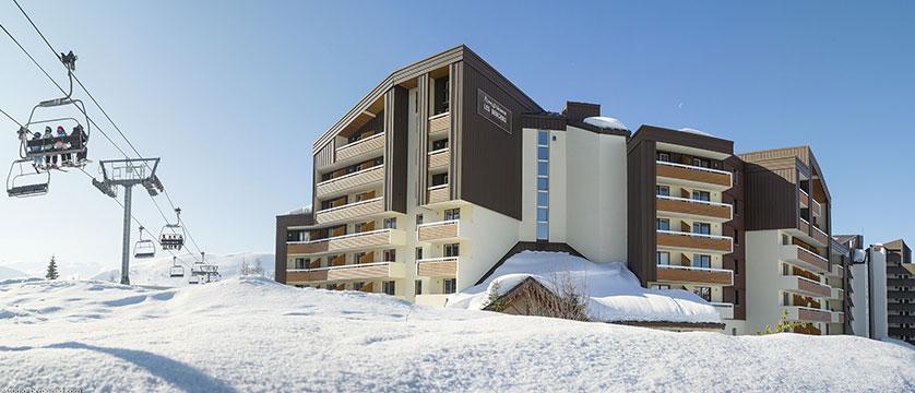 Les Bergers apartments exterior