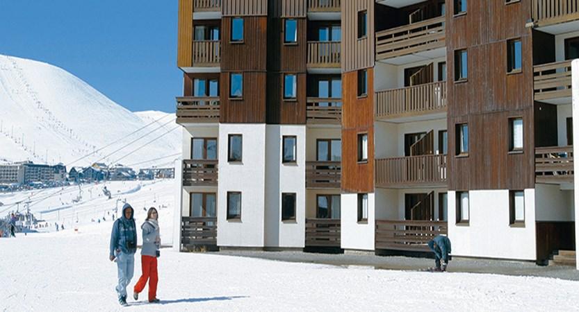 Les Bergers apartments exterior 2