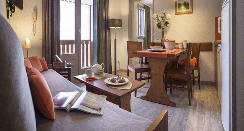Les Bergers apartments - living area 2