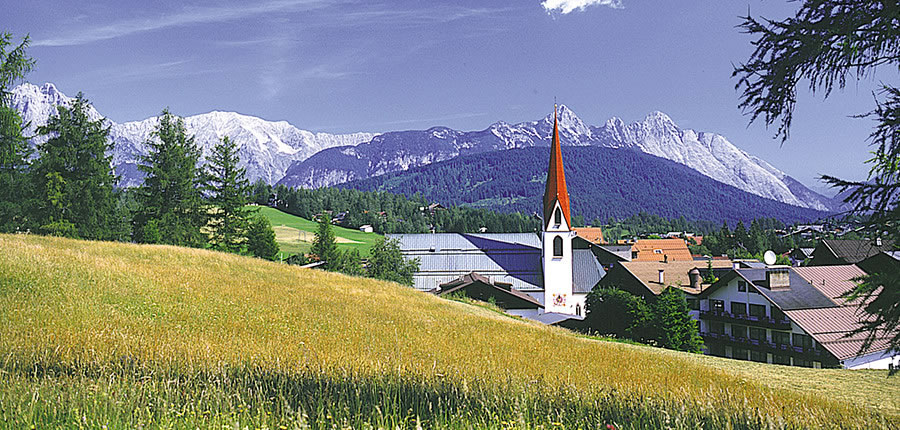 Seefeld, Church, Steeple View