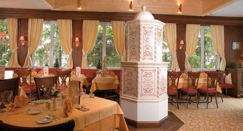 Hotel Schönruh, Seefeld, Austria - Dining room interior.jpg
