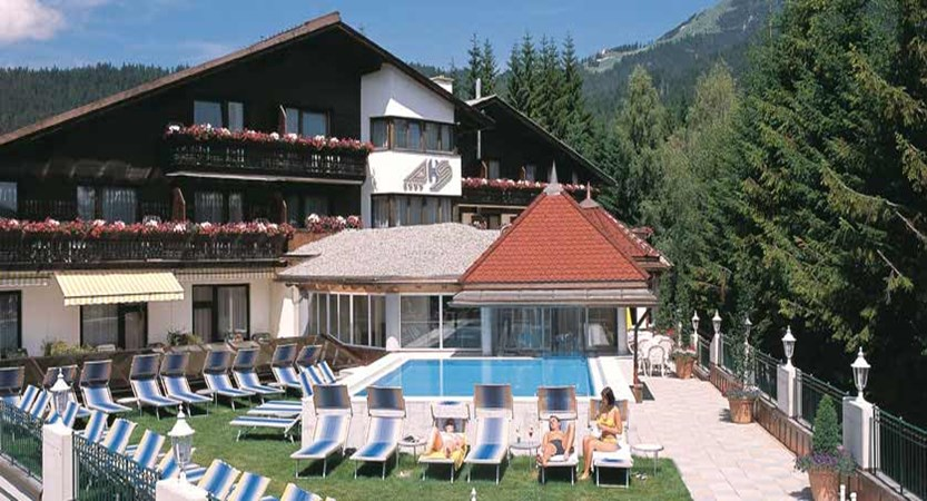 Hotel Schönruh, Seefeld, Austria - Exterior with outdoor pool.jpg