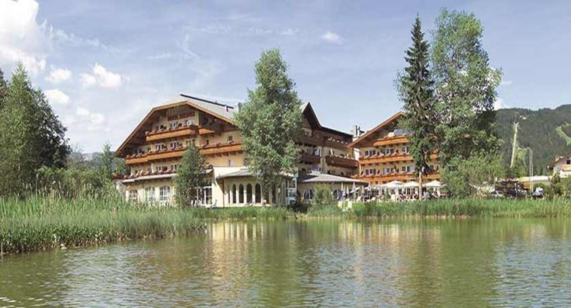 Hotel Seespitz, Seefeld, Austria - Exterior in summer.jpg