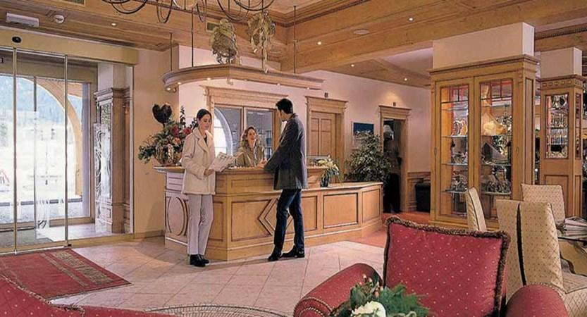 Hotel Seespitz, Seefeld, Austria - Reception & Lounge area.jpg