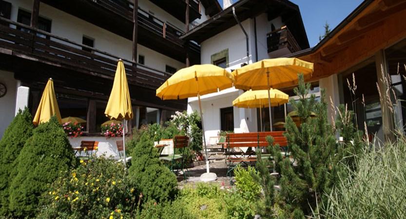 Hotel Stefanie, Seefeld, Austria - Exterior in summer.jpg