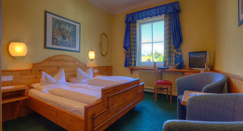 Krumers Post & Spa Hotel, Seefeld, Austria - example of the double bedroom.jpg