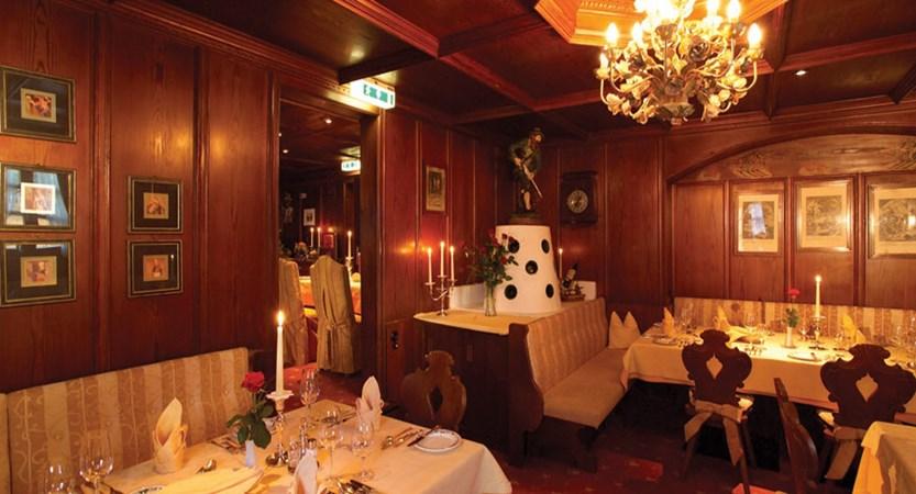Hotel Alte Post, St. Anton, Austria - Restaurant interior.jpg