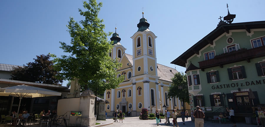 St. Johann, Austria - Town view