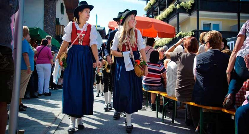 St. Johann, Austria -Traditional dress at a festival.jpg