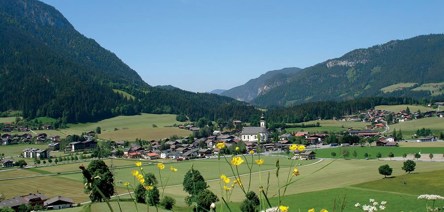 Söll, Austria - Landscape views