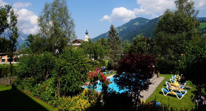 Hotel Tyrol, Söll, Austria - View of outdoor pool.jpg