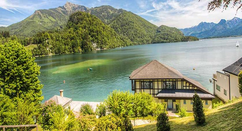 Hotel Billroth, St. Gilgen, Salzkammergut, Austria - view of the lake from the hotel.jpg
