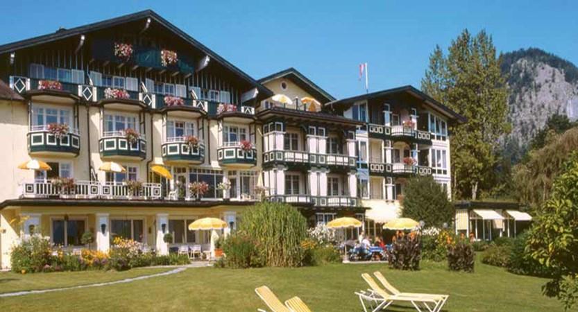 Hotel Hollweger, St. Gilgen, Salzkammergut, Austria - hotel exterior in summer.jpg