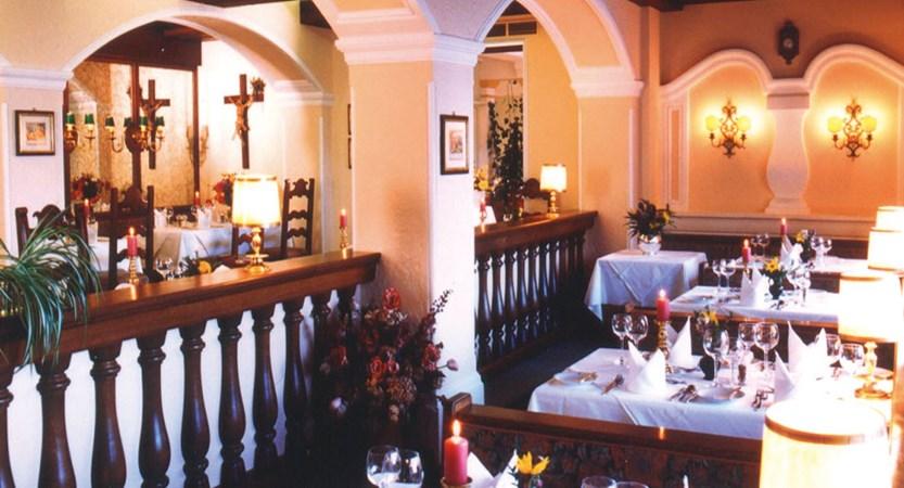 Hotel Hollweger, St. Gilgen, Salzkammergut, Austria - restaurant interior.jpg