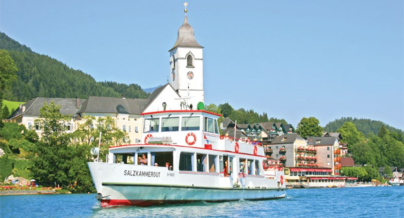 St. Wolfgang, Salzkammergut, Austria - Boat on the lake.jpg