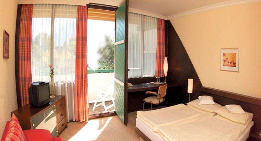 Hotel Försterhof, St. Wolfgang, Salzkammergut, Austria - bedroom with balcony.jpg