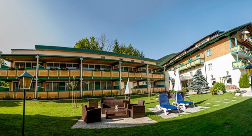 Hotel Försterhof, St. Wolfgang, Salzkammergut, Austria - hotel exterior in summer.jpg