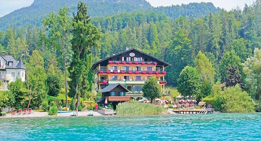 Hotel Seewinkel, Fuschl, Salzkammergut, Austria - exterior from the lake.jpg