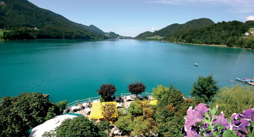 Landhotel Schützenhof, Fuschl, Salzkammergut, Austria - Lake view from hotel.jpg