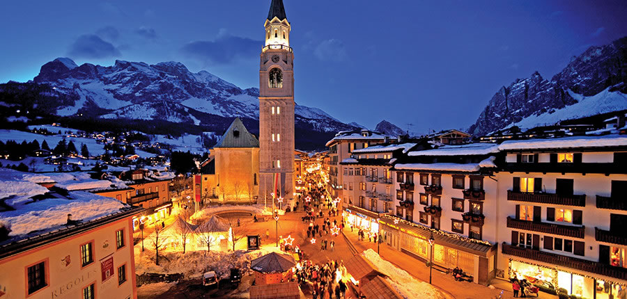 Cortina d'Ampezzo, resort centre