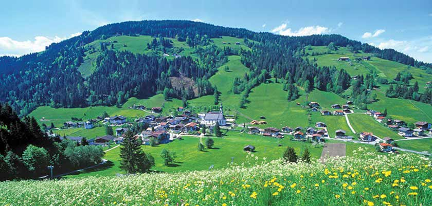 Niederau, The Wildschönau Valley, Austria - Landscape views