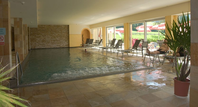 Hotel Harfenwirt, Niederau, The Wildschönau Valley, Austria - Indoor pool.jpg