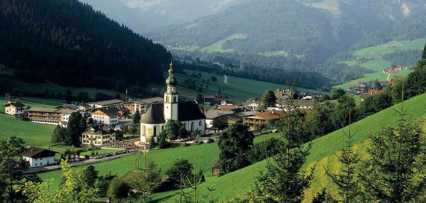 Oberau, The Wildschönau Valley, Austria, Town view