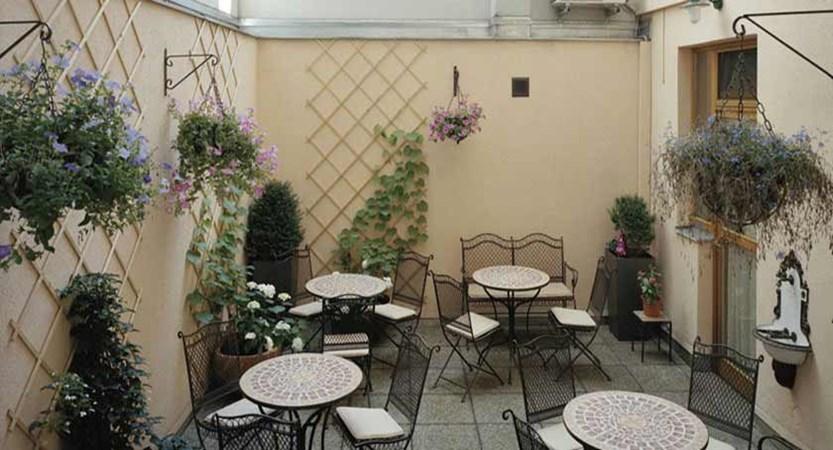 Hotel Beethoven, Vienna, Austria - Outside seating area.jpg
