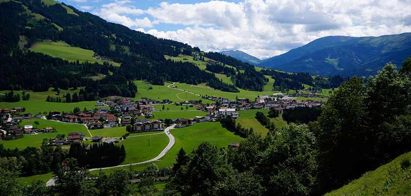 Austria, Austrian-Tyrol_Westendorf, Landscape View