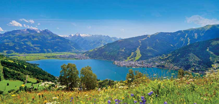 Zell am See, Austria - Lake & mountain view.jpg
