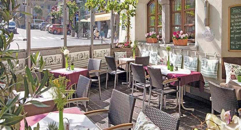 Hotel zum Hirschen, Zell am See, Austria - terrace.jpg
