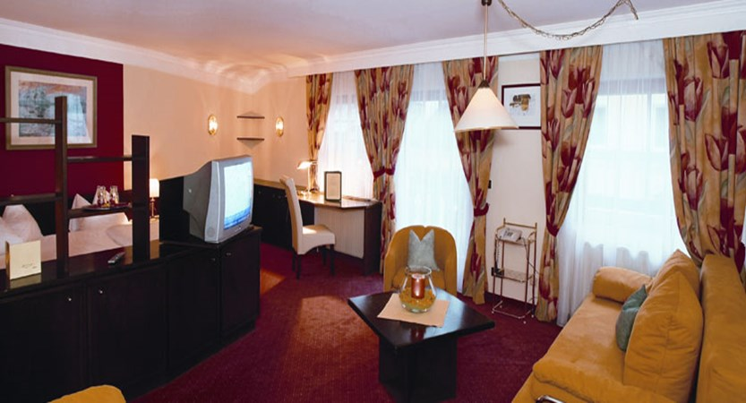 Hotel Fischerwirt, Zell am See, Austria - Bedroom living area.jpg