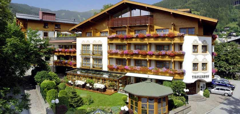 Hotel Tirolerhof, Zell am See, Austria - hotel exterior in summer.jpg