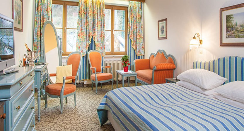 Landhotel St. Georg, Zell am See, Austria - double bedroom.jpg