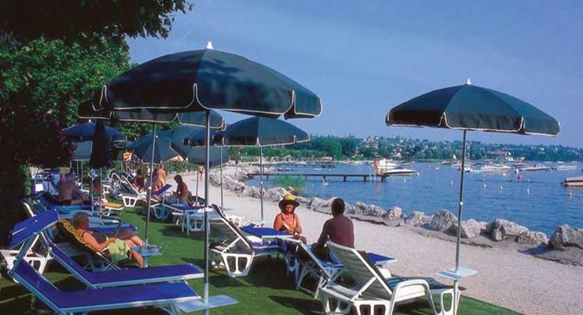 Hotel Kriss Internazionale, Bardolino, Lake Garda, Italy - Sunbathing Area.jpg