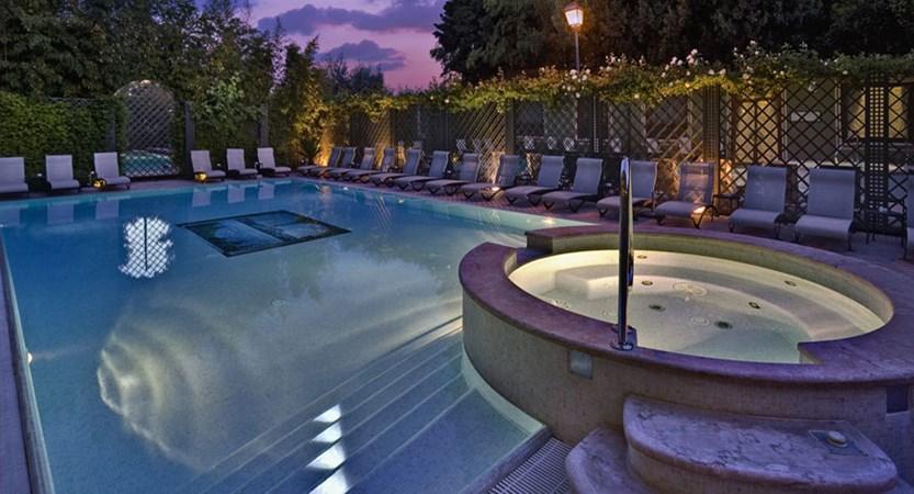 Hotel San Pietro, Bardolino, Lake Garda, Italy - Swimming Pool in the evening.jpg