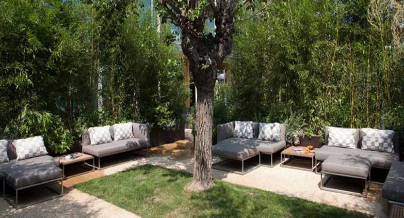 The Aqualux Hotel Spa & Suites, Bardolino, Lake Garda, Italy - Garden terrace lounge.jpg