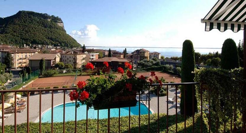 Hotel Garden, Garda, Lake Garda, Italy - Balcony View.jpg