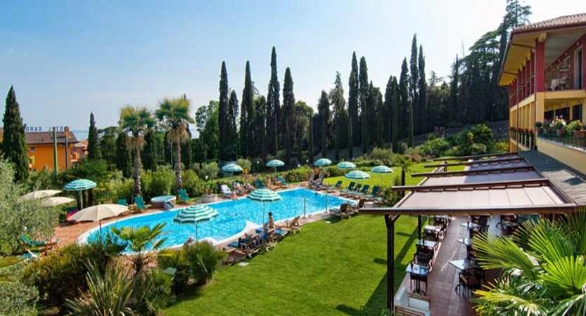 Villa Madrina Hotel, Garda, Lake Garda, Italy - Outdoor pool & garden.jpg