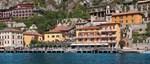 Hotel All'Azzurro, Limone, Lake Garda, Italy, exterior overlooking the lake.jpg