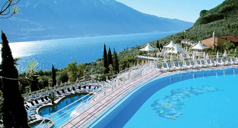 Hotel San Pietro, Limone, Lake Garda, Italy - Outdoor pool area.jpg