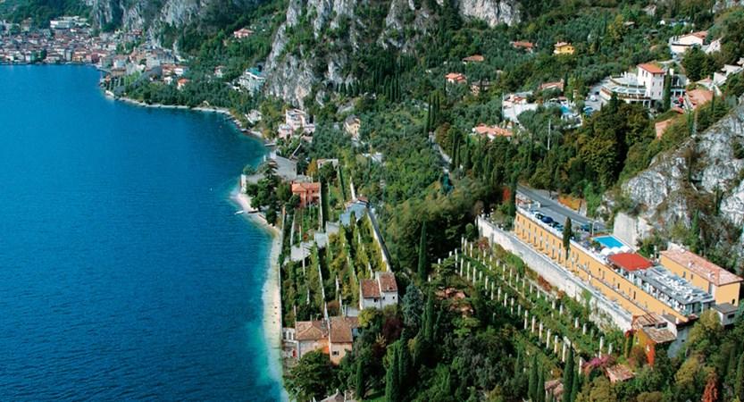 Hotel Villa Dirce, Limone, Lake Garda, Italy - Exterior aerial view.jpg