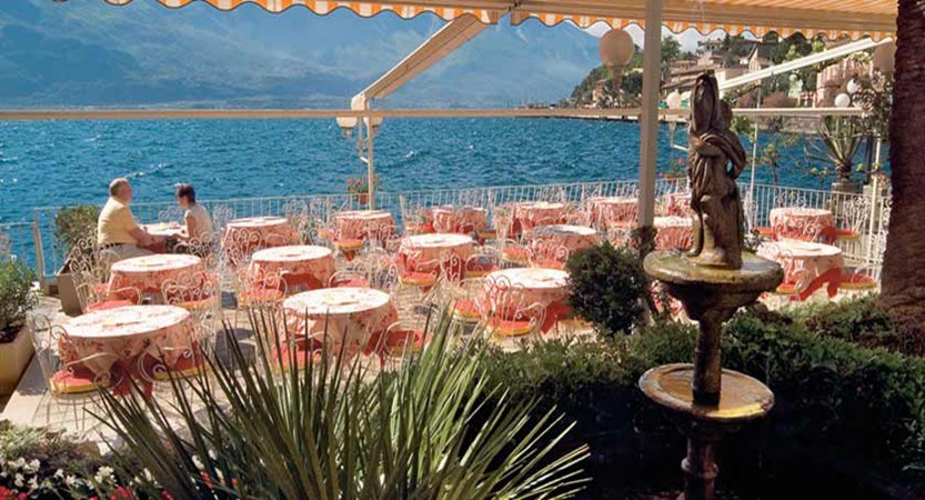 Hotel Le Palme, Limone, Lake Garda, Italy - Terrace Restaurant.jpg