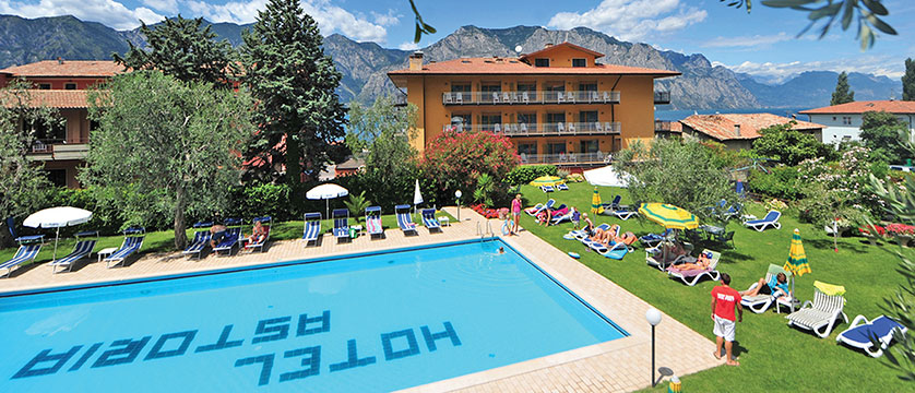 Hotel Astoria, Malcesine, Lake Garda, Italy - Exterior & outdoor pool.jpg