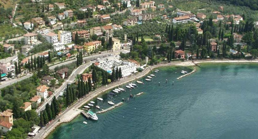 Excelsior Bay Hotel, Malcesine, Lake Garda, Italy - Exterior aerial view.jpg
