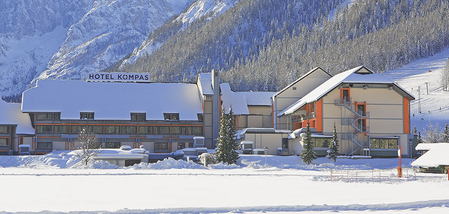 Hotel Kompas, Kranjska Gora, Slovenia - exterior.jpg